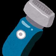 vioの自己処理用の電気シェーバー