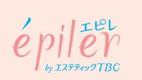 淡いピンクのキュートでかわいいロゴのエピレ
