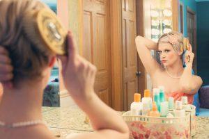 美肌を目指す女性